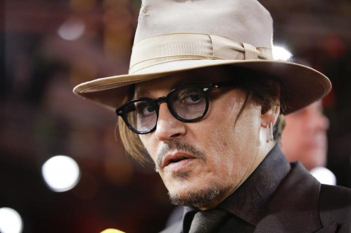 In this Friday, Feb. 21, 2020 file photo, actor Johnny Depp