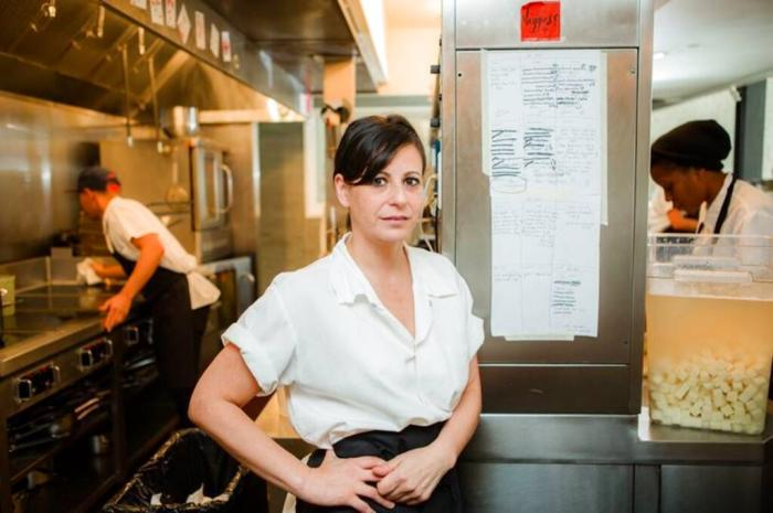 Amanda Cohen, a leader of the Independent Restaurant Coalition.