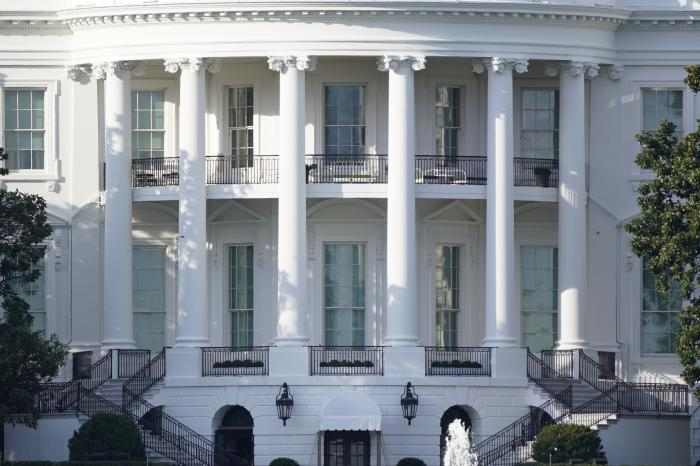 The White House is seen in Washington.