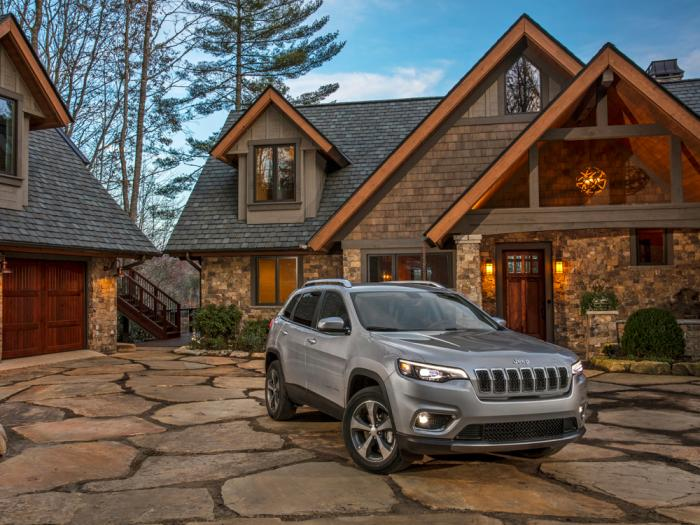 This photo provided by Fiat Chrysler Automobiles shows 2020 Jeep Cherokee Limited