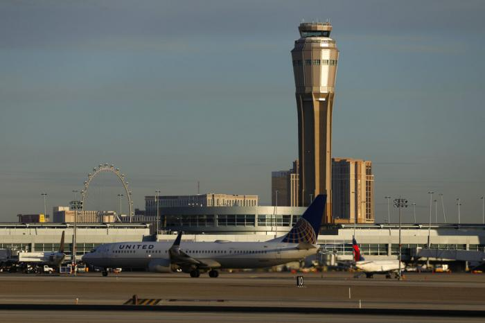 A county board voted unanimously Tuesday, Feb. 16, 2021, to rename busy McCarran International Airport in Las Vegas after former U.S. Sen. Harry Reid of Nevada.
