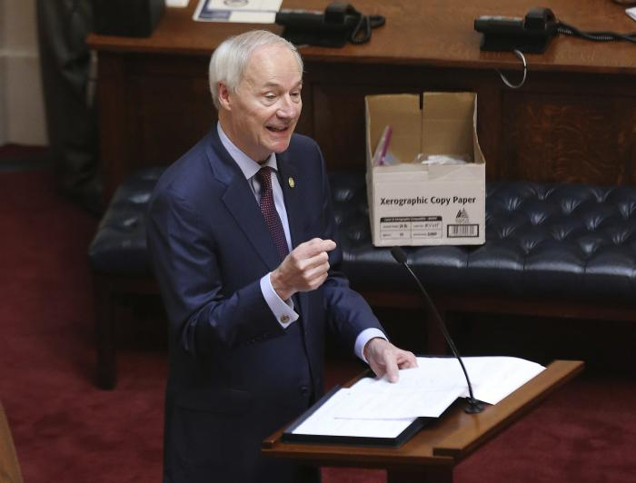 Arkansas Gov. Asa Hutchinson
