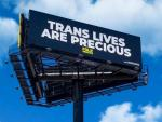 'Trans Lives Are Precious' Reads Billboard Near Trump's Mar-A-Lago Estate